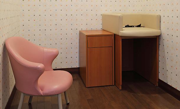 授乳室・おむつ台